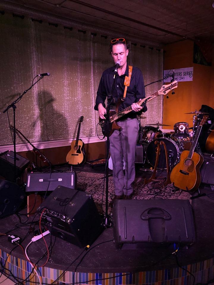 Lomo rocking Atomic Tom's in Binghamton